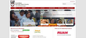 Food link emergency aid website